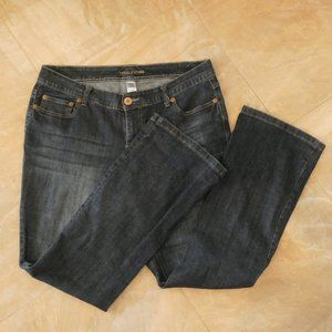 EUC Maurices Mid Rise Dark Wash Boot Cut Jeans
